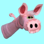 Image of Portia™  Sockett® Pig Sock Puppet
