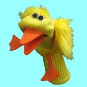 Image of Lucky™ Sockett® Couture Duck Sock Puppet