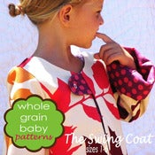 Image of The Swing Coat sewing pattern