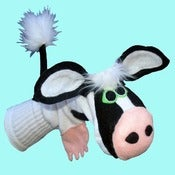 Image of Lilly™ Sockett® Couture Cow Sock Puppet