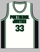 Image of Personalised PJ White Basketball Singlet (mens &amp; womens)