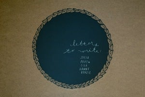 Image of laurel chalkboard