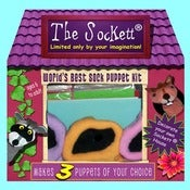 Image of The Sockett Kit. World's BEST Sock Puppet Kit