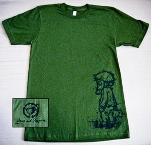 Image of The Motorist t-shirt (olive)