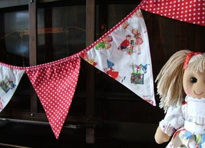 Image of Powell Craft Vintage Print Bunting
