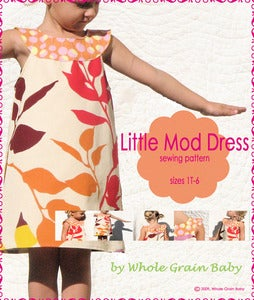 Image of The Little Mod Dress sewing pattern