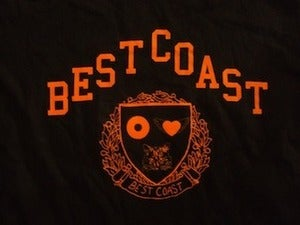Image of BEST COAST - Harvard Tee in Black or White!