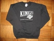 Image of VINTAGE LOS ANGELES LA KING LOGO 7 SWEATSHIRT