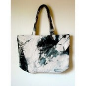 Image of ::black mountain bag:: organic, hand-dyed