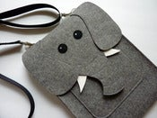 Image of Elephant - MacBook Pro 13 inch sleeve - MADE TO ORDER