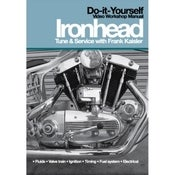 Image of IRONHEAD SPORTSTER TUNE AND SERVICE DVD