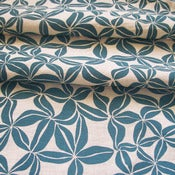 Image of Bauhinia teal on hemp