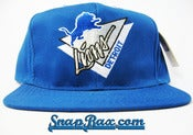 Image of VINTAGE DETROIT LIONS AMERICAN NEEDLE SNAPBACK
