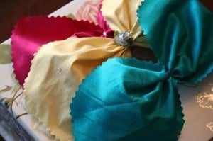 Image of Silk Bow headband