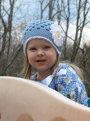 Image of Spring Daisy Beanie Crochet Pattern- 5 sizes included PDF 080