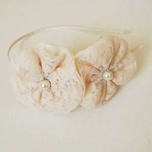 Image of White Duet Headband