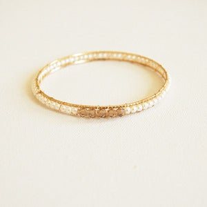Image of Mid Pearl Bangle