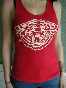 Image of GIRL'S RED TIGER BEATER