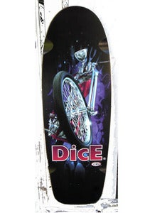 Image of DICE CHOPPER SKATE DECK