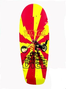 Image of DICE HARPOON SKATE DECK