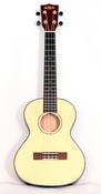 Image of Kala Spruce/Mahog Travel Tenor with pickup