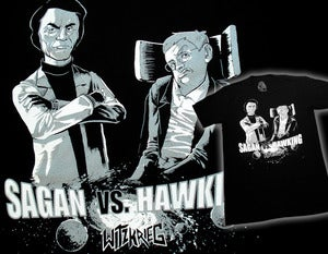 Image of Sagan v. Hawking - Sagan Wins