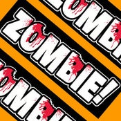 Image of ZOMBIE! Bumper Sticker 8.50x2.75 inches