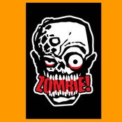 "Image of ZOMBIE! ""Infectious"" Sticker 4.25x2.75 inches"