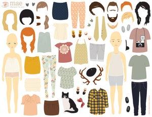 Image of Dress Up Boy & Girl