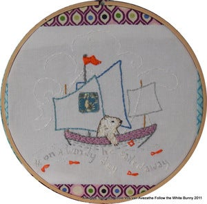 Image of Sailing Polar Bear