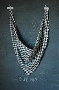 Image of italian linen duomo scarf