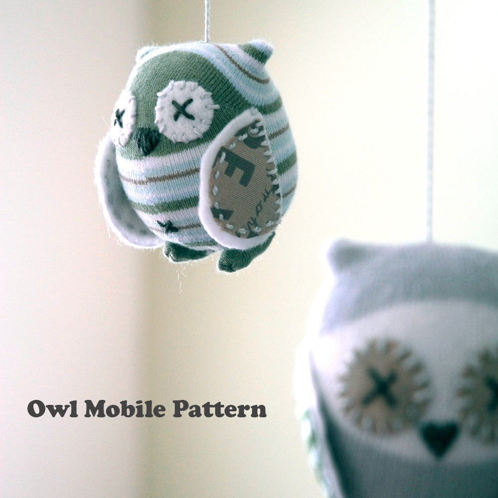 Image of Owl Mobile Pattern PDF