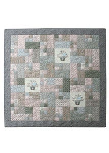 Image of Flower Basket Quilt pattern