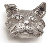 Image of Charlotte - Medium Cat Head Knob