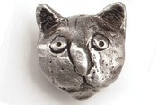 Image of Rodney - Medium Cat Head Knob