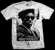 Image of 'Free Wesley' t-shirt