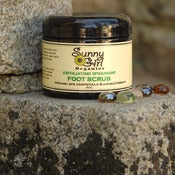 Image of Exfoliating Spearmint Foot Scrub 6oz