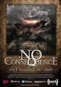 Image of NO CONSEQUENCE - Ltd Edition 'In The Shadow Of Gods' Poster