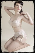 Image of Lily Nude Garter Belt