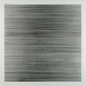 Image of untitled ( lines &quot;y&quot; 128 diagonals) on polyester film
