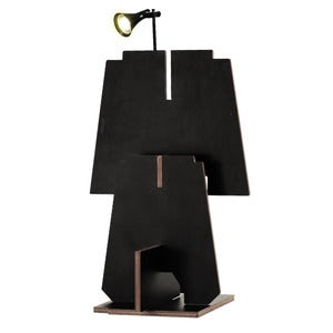 "Image of Alphabet Furniture - Lamp<br><span style=""font-weight:normal""><em>by Joel & Elmy</em></span>"