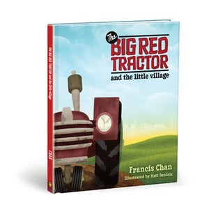 Image of The Big Red Tractor and the Little Village - Children's Book