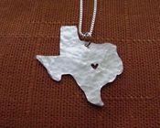 Image of Texas State Necklace