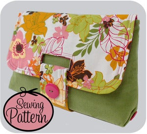 Image of Strap Clutch PDF Sewing Pattern