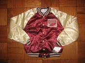 Image of VINTAGE MICHIGAN PANTHERS SATIN JACKET NWT