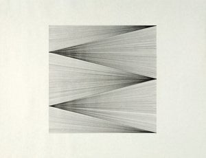 Image of untitled (line studies - 4 diagonals)