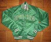 Image of VINTAGE MICHIGAN STATE STARTER JACKET NEW