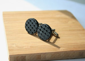 Image of Houndstooth cuff links