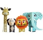 Image of THE WILD BUNCH PAPER ANIMALS