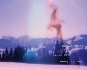 Image of **sold out** Julia Holter | Eating The Stars + Live on KDVS | DOUBLE TAPE | $14 |